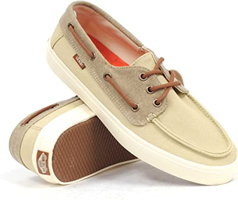 Vans Chaussures Bateau Chauffeur 2 0 Washed - Khaki Marshmallow ...