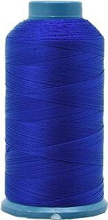 Mandala Crafts Bonded Nylon Sewing Thread, 1500 Yard Size #69 T70 (Royal Blue)