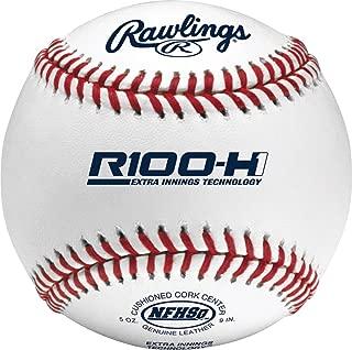 Rawlings Raised Seams, Cushioned Cork Center, High School Baseballs, (12 Count), R100-H1