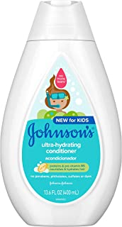Johnson's Baby Ultra-hydrating Tear-free Kids Conditioner With Pro-vitamin B5, 13.6 fl. oz.
