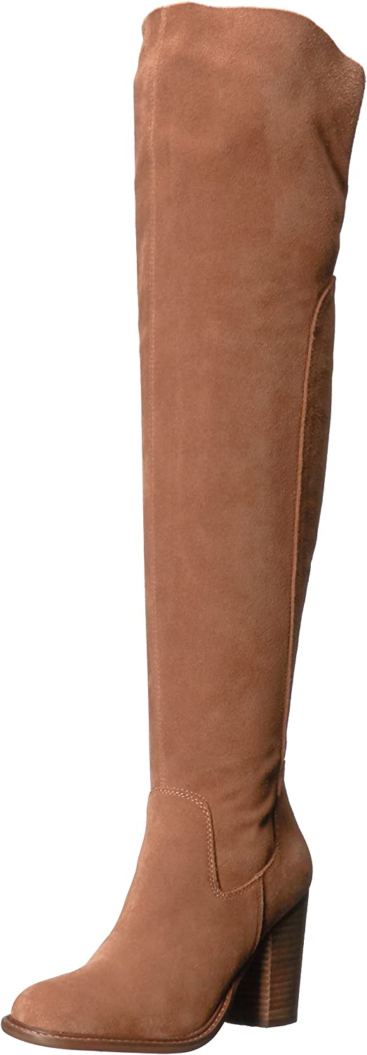 Kelsi Dagger Brooklyn Women's Logan Boot, Chestnut, 6 M US