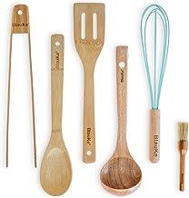 Wooden Cooking Utensils Set – 6-Piece Kitchen Utensils Set