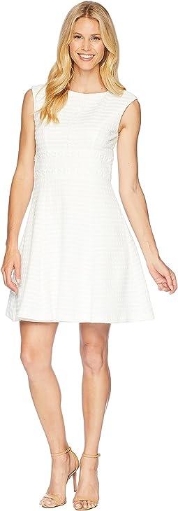 Drop Shoulder Fit & Flare Dress