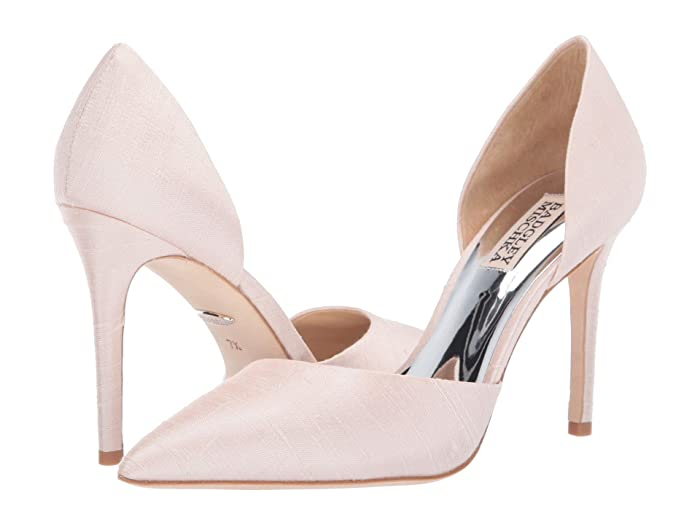 Badgley Mischka  Lola (Light Pink Indian Silk) High Heels