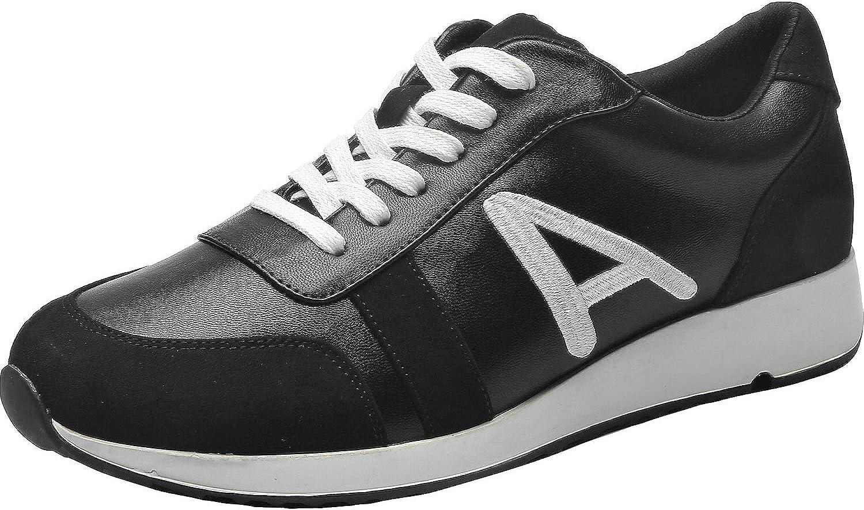 2308940f9f3e3 Aukusor Women's Wide Width Athletic Sneakers - Non-Slip Casual Lace ...