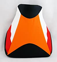 Artudatech - Funda de piel para asiento delantero de motocicleta, asiento individual para H-O-N-D-A CBR600RR CBR 600 RR 2007-2012