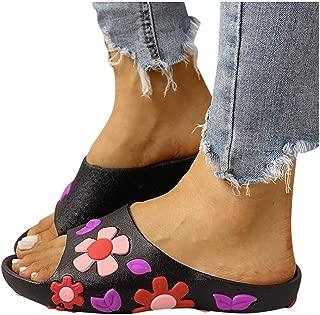 Femmes Dunlop Femmes Bas Talon Compensé Tongs Toe post Plage Été Sandale Souple Chaussures