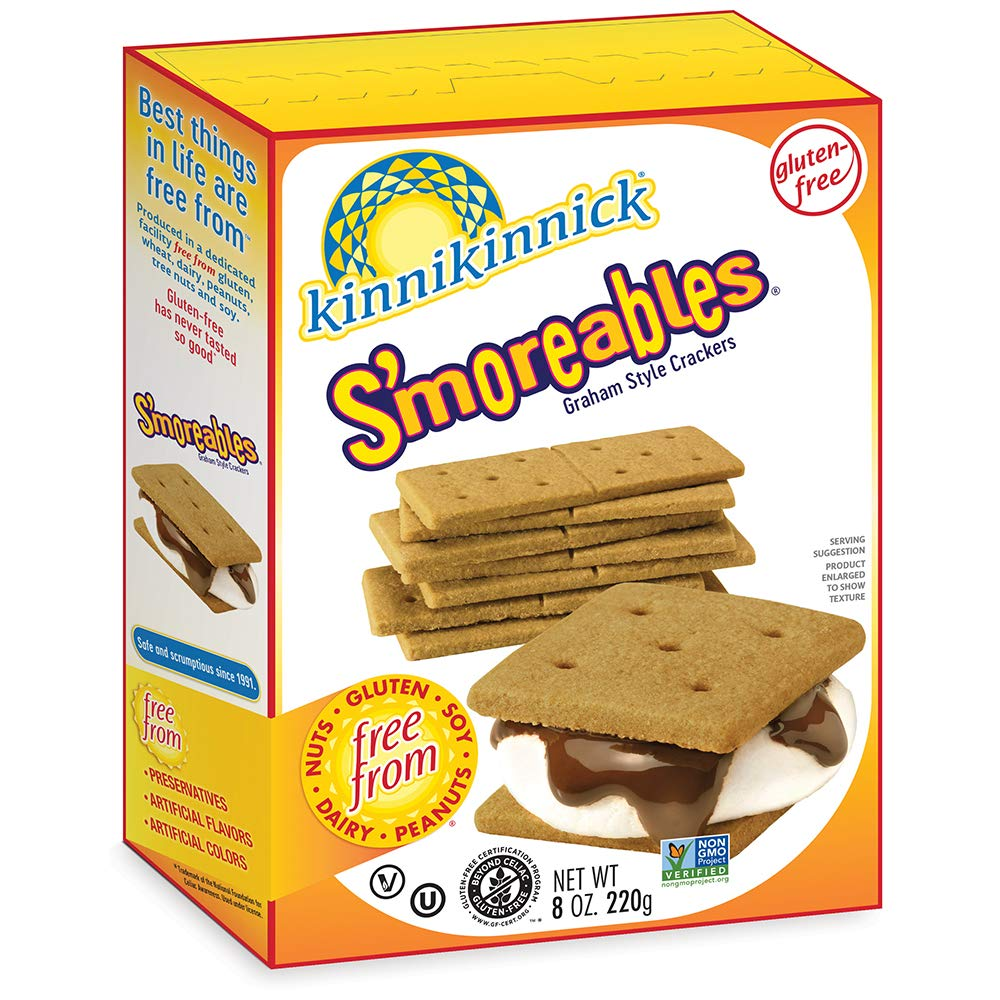 Kinnikinnick S'moreables Gluten Sales results No. Gorgeous 1 Free 8oz Style Crackers Graham