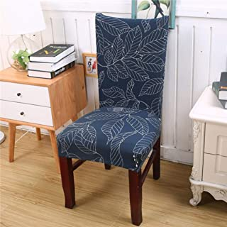 Drew Toby Seat Cover Spandex Elastic Geometric Pattern Protection Stretch Modern Party Dining Chair Covers