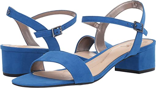 Sapphire Blue Microsuede