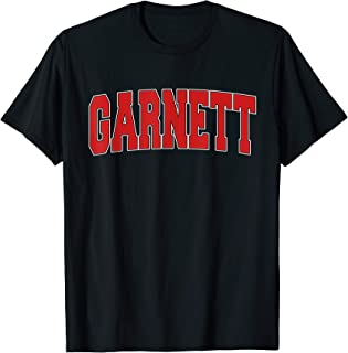 GARNETT KS KANSAS Varsity Style USA Vintage Sports T-Shirt