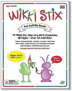 Wikki Stix 109 Activity Book, 8.5in x 11in, Multi 72 Piece