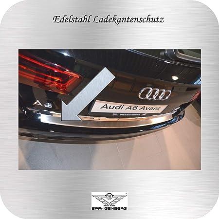 Recambo Ct Lks 0810 Ladekantenschutz Edelstahl Matt Für Audi A6 C7 4g Avant 2011 2018 Mit Abkantung Large Auto