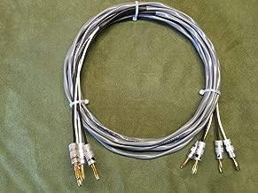 15 ft Belden 5000UE 12 AWG Speaker Cable, 2/2 Pair Banana