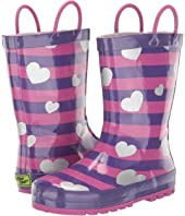 Glitter Hearts Rain Boot (Toddler/Little Kid)
