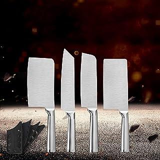COUTEAU CUISINE COUTEAU COUTEAU SET 4PCS Couper Trancher Chef Cuisson Outils de cuisson Haute Qualité Couteau en acier ino...