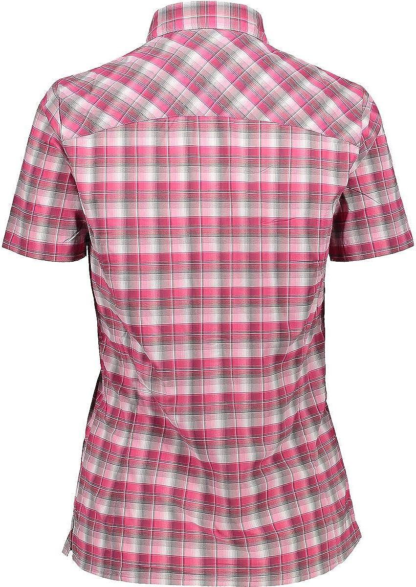 CMP Damen Short Sleeve Stretch Shirt with UPF 30 Protection Hemd