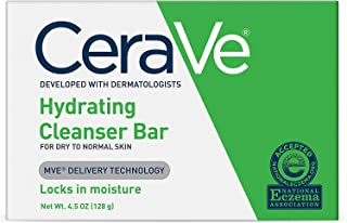 CeraVe Hydrating Cleansing Bar 4.5 oz ( Pack of 5)