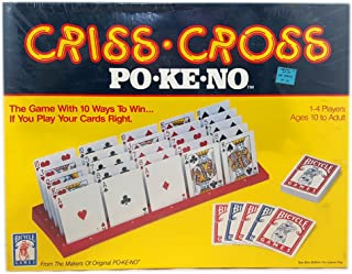 Vintage Bicycle Games Criss-Cross Po-Ke-No Poker Game 1-4 Players Solitaire