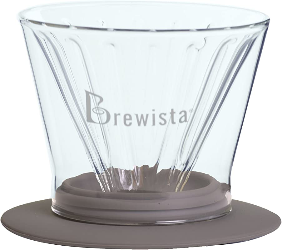 Brewista BDW60FCF4 Full Cone Glass Dripper Clear