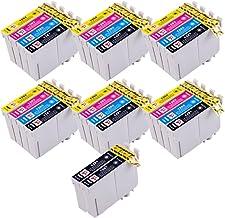 PerfectPrint - 26PerfectPrint-Cartuchos de tinta compatibles T1281T1282T1283T1284(T1285) para impresoras Epson Stylus S22, SX125, SX130, SX420W, SX425W, SX445W BX305F BX305FW SX230SX235W SX445W SX435W SX430W SX438W SX440W