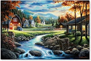 Country Living by Chuck Black, 22x32-Inch Canvas Wall Art