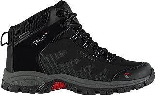 Gelert Mens Softshell Mid Walking Boots Lace up Waterproof