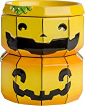 Halloween Forevermore Jack-O-Lantern Ceramic Wax Warmer | Flameless & Easy to Clean | Handcrafted Horror-Style Character Aromatherapy Candle Warmers