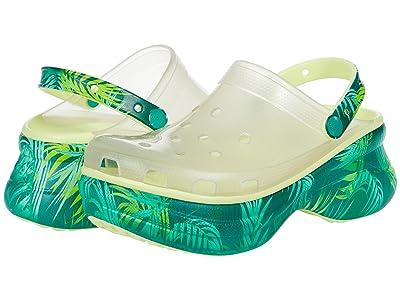 Crocs Classic Bae Translucent Tropical Clog