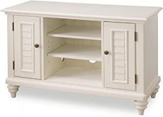 Bermuda Brushed White TV Stand by Home Styles