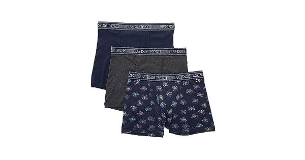 3 Pack 183VB06 Lucky Fashion Cotton Boxer Briefs