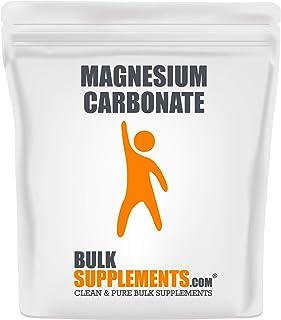 BulkSupplements Magnesium Carbonate Powder (500 Grams)