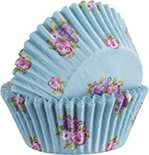 Mason Cash 2008.258 Floral Baking Cases, Set of 40, Paper