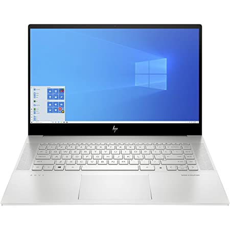 HP Envy 15-ep0142TX 15-inch Laptop (10th Gen i7-10750H/16GB/1TB SSD/Windows 10 Home/Integrated Graphics), Natural Silver