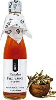 Sponsored Ad - Wangshin Fish Sauce (10 fl oz / Aged 2 years) - Anchovy and Salt Fermented in a Korean Traditional Clay Pot.