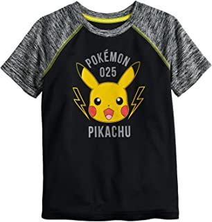 Jumping Beans Boys 4-12 Pokemon Pikachu Active Graphic Tee