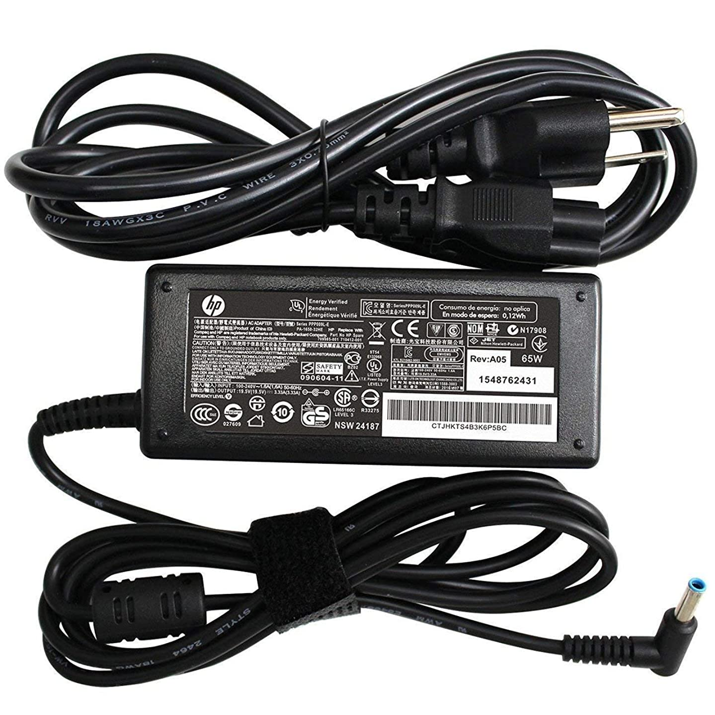 New Genuine AC Adapter for HP Chromebook Envy Pavilion 45W 19.5V 2.31A AC Adapter 755530-001 854054-002