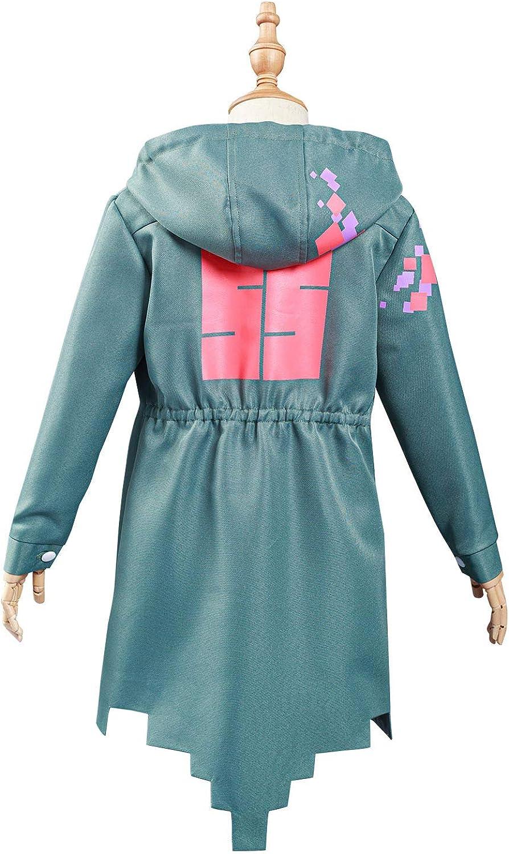 Verycos Kids Nagito Komaeda Jacket Outfit Cosplay Costume Hoodie for Boys Girls