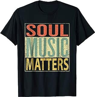 Soul Music Matters T-Shirt. Vintage Retro 70s Colors Tee