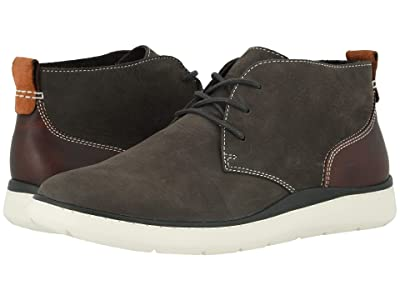 Johnston & Murphy Farley Chukka (Charcoal Oiled Nubuck) Men