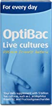 OptiBac Live Cultures for Every Day 90 Capsules, 130 g