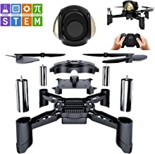 $32 » GILOBABY STEM RC Toys DIY Mini Racing Drone Headless Mode 2.4Ghz Nano LED RC Quadcopter Altitude Hold for Beginners, Gifts for Boys & Girls