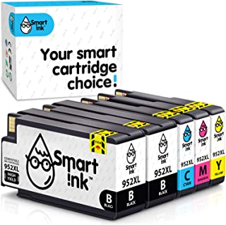 Smart Ink Compatible Ink Cartridge Replacement for HP 952 XL 952XL (2 black & C/M/Y 5 Pack)to use with OfficeJet 8702 Offi...
