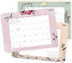 "PAPAYA 2020 - 2021 Desk Pad Calendar (17-Month Aug 2020 - Dec 2021, 18.75"" x 13.5"")"