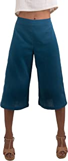 Tropic Bliss Women's Organic Cotton Capri Pants, Gauchos
