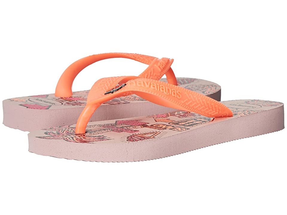 Havaianas Kids Fantasy Flip Flops (Toddler/Little Kid/Big Kid) (Pearl Pink) Girls Shoes