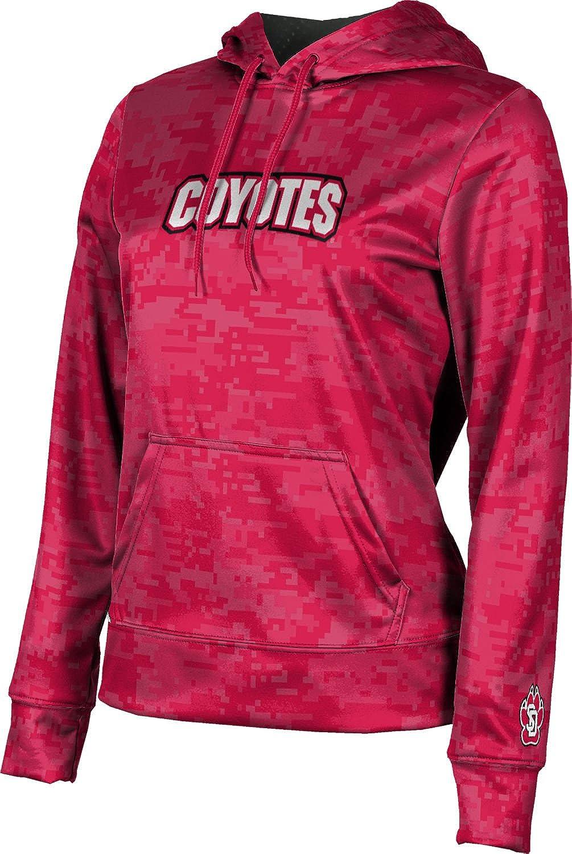 University of South Dakota Girls' Pullover Hoodie, School Spirit Sweatshirt (Digi Camo)