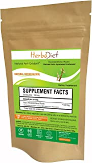 Trans Resveratrol 99% Pure Powder Max Strength| Antioxidant Supplement for Heart and Cellular Health, Immune Support Healt...