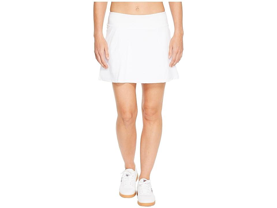 Fila Heritage Tennis Pleated Skort (White) Women