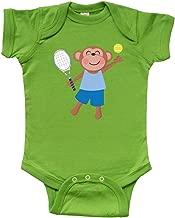 inktastic Tennis Monkey Kids Infant Creeper